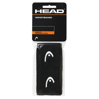 HEAD WRISTBAND 2,5` BLACK