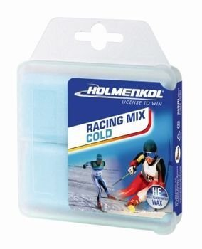 Ski wachs HOLMENKOL RACING MIX COLD 2x35g